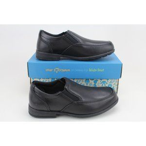Pre-School Kooru Step Black Leather 26100782